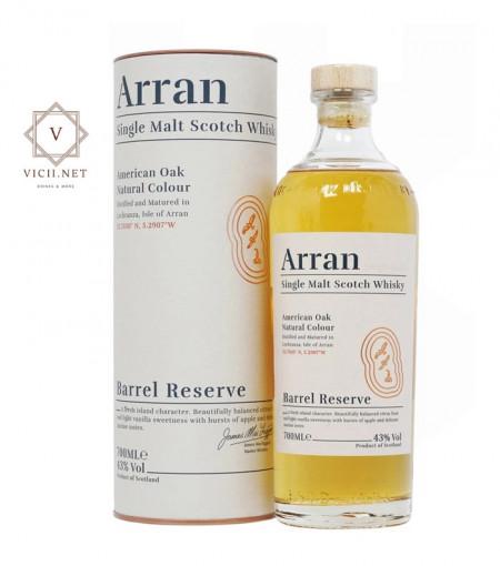 Whisky Arran Barrel Reserve in cutie cadou, 43 %, 700 ml