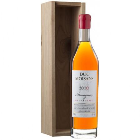 Armagnac Duc Moisans 2000, Cutie Lemn, 48.7%, 0.7l