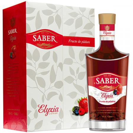 Lichior Fructe de padure Saber Elyzia 700 ml