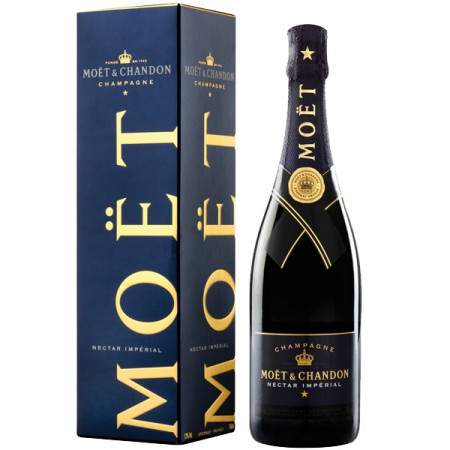 Sampanie Moet & Chandon Nectar Imperial in Cutie, 750 ml