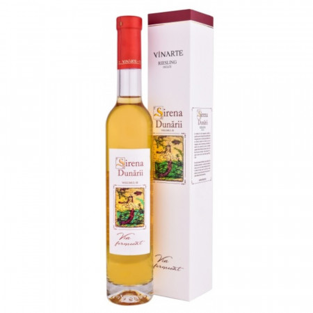 Vin alb dulce, Vinarte - Sirena Dunarii, Riesling, 2013 - 375 ml