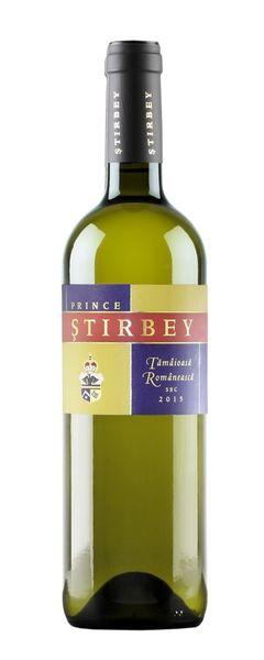 Vin alb Stirbey Tamaioasa Romaneasca 13.5% - 750 ml