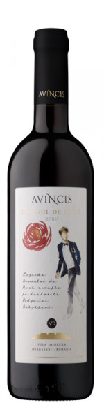 Vin rosu sec Avincis, Domnul de roua in Rosu, 750 ml