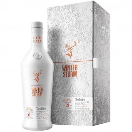 Whisky Glenfiddich Winter Storm 21 Ani, 43 %, 700 ml