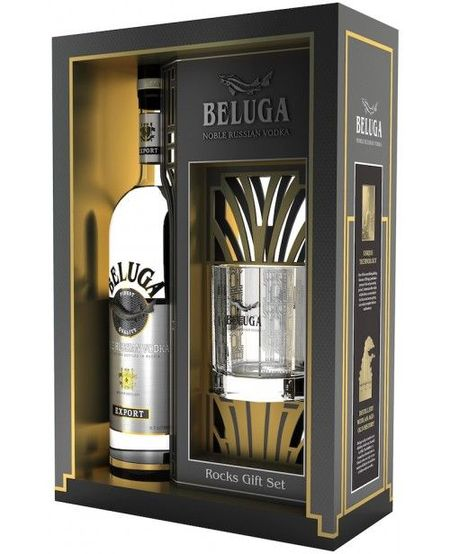 Beluga Noble Cu Pahar , 700 ml