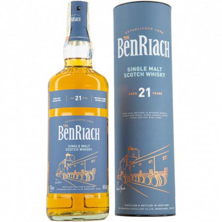 Benriach 21 yo, Single Malt, 46%, 700 ml
