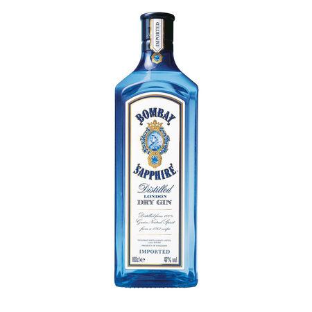 Bombay Saphire dry gin 1000 ml