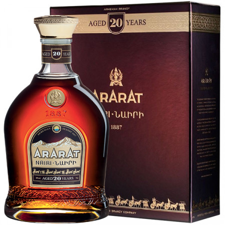 Dvin Ararat Nairi 20 de ani 700 ml