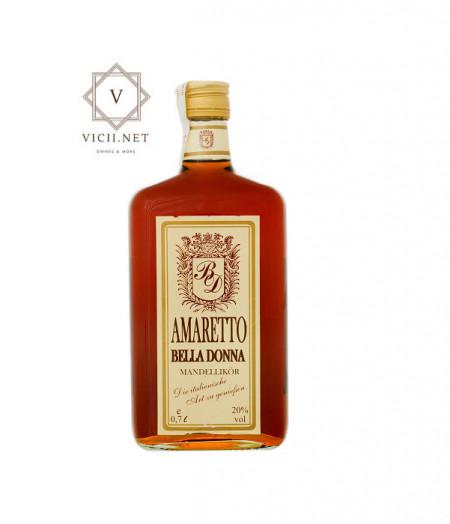 Lichior Amaretto Bella Donna, 700 ml