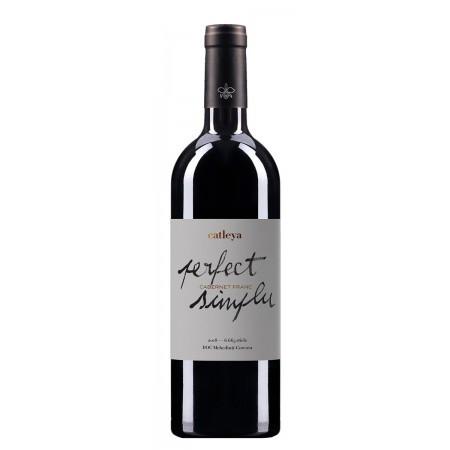 Vin rosu sec Catleya PERFECT SIMPLU Cabernet Franc, 750 ml