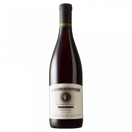 Vin rosu sec nefiltrat - J. Christopher Pinot Noir Willamette Valley 2011 - 13 % - 750 ml