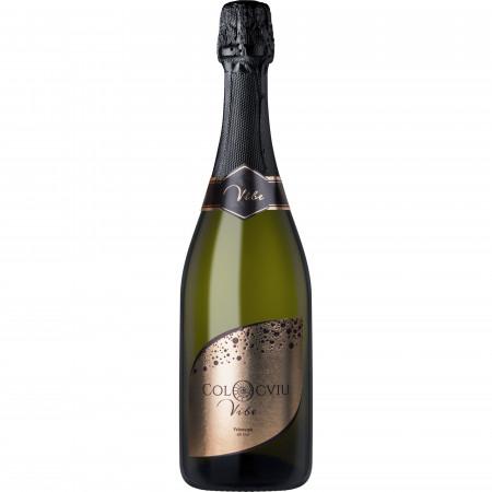 Vin spumant alb, Colocviu Vibe, Francusa, Brut, 750 ml
