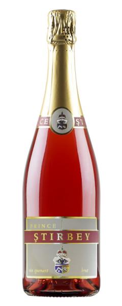 Vin spumant rose (novac) Stirbey, 750 ml
