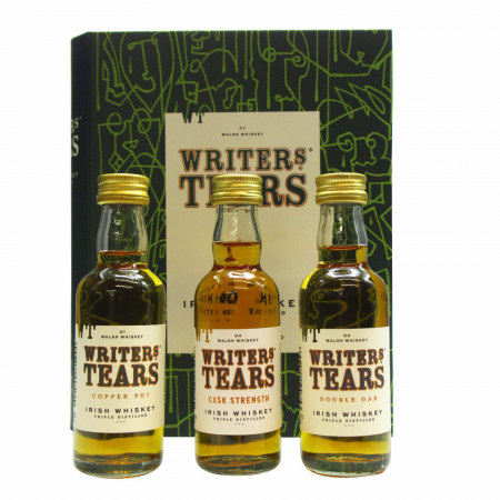 Writer's Tears - Mini Gift Book Set - 3 x 5cl Whiskey