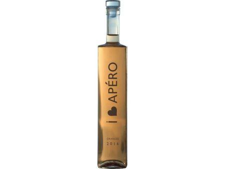 Apero vin de portocale artizanal - Bautura pe baza de vin 14% - 500 ml