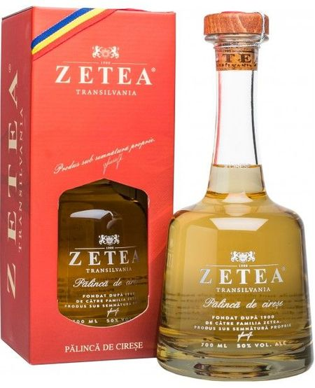 Palinca Zetea de Cirese - 700 ml 50 %