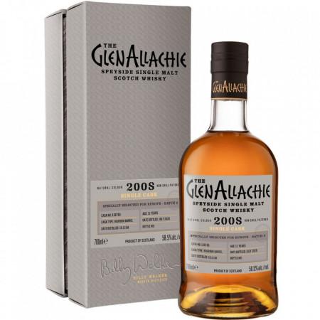 Single Malt Single Cask (2008), Whisky GlenAllachie 11 years old 58.5%, 700 ml