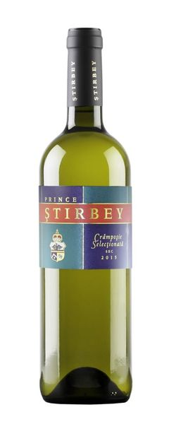 Vin alb Stirbey Cramposie Selectionata 12.5% - 750 ml