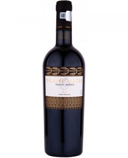 Vin Prince Matei, Merlot 2013 eticheta veche, 14.5% 750 ml
