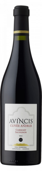 Vin rosu sec Avincis Cuvée Andrei Cabernet Sauvignon 750 ml