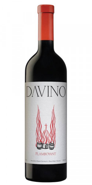 Vin rosu sec Davino Flamboyant 2016 750 ml