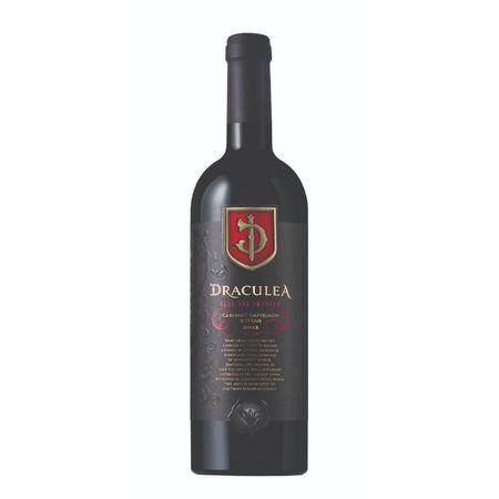 Vin rosu sec Draculea Cabernet Sauvignon & Syrah 13,7 % - 750 ml