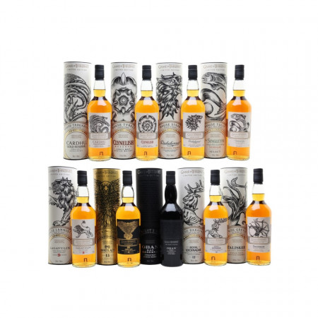 Whisky Game of Thrones Collector's Pack 9 x 700 ml