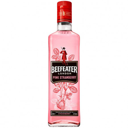 Gin Beefeater Pink Strawberry 37.5%, 700 ml