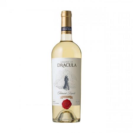 Vin alb sec, Legend of Dracula Feteasca Regala Eco, 750 ml