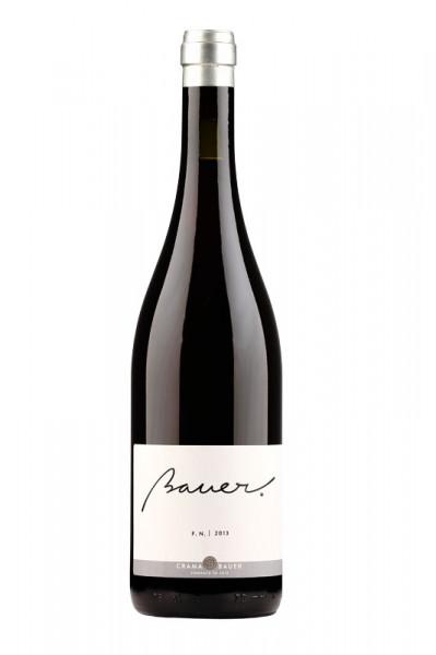 Vin rosu Crama Bauer, FETEASCA NEAGRA 2017, 750 ml