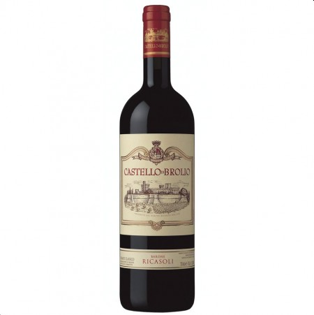 Vin rosu sec Castello Di Brolio Chianti Classico Gran Selezione Barone Ricasoli 14.5 % - 2011 750 ml