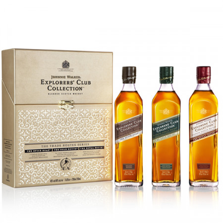 Whsiky Johnnie Explorers' Club Collection 3 x 200 ml