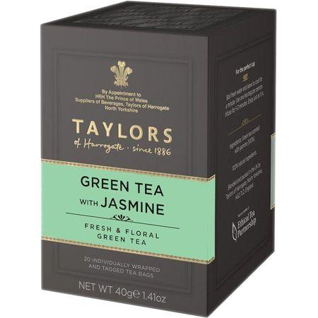 Ceai verde cu iasomie Taylors of Harrogate 20 pliculete a cate 2g