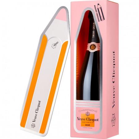 Sampanie Veuve Clicquot Rose Magnetic Message, 750 ml
