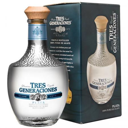 Tequila Tres Generaciones Plata 700 ml