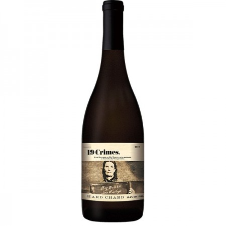 Vin alb sec 19 Crimes Hard Chard - 750 ml