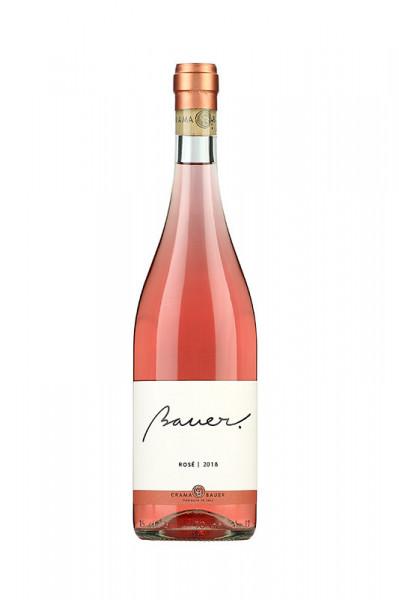 Vin rose Crama Bauer, Rose 2018, 750 ml