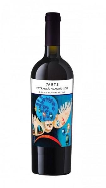 Vin rosu sec 7 Arts Feteasca neagra 2017 16.5% - 750 ml