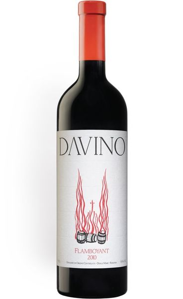 Vin rosu sec Flamboyant Davino 750 ml