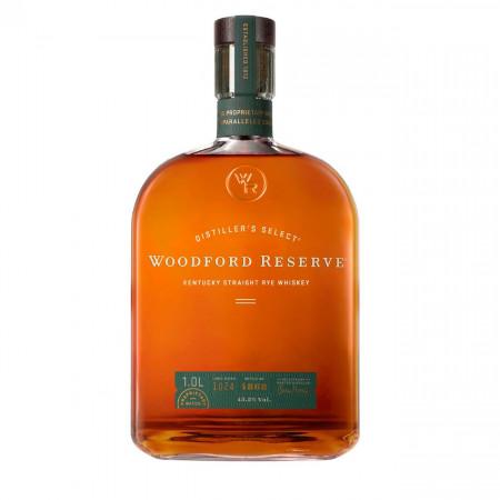 Whiskey Woodford Reserve, Secara, Rye, 1000 ml