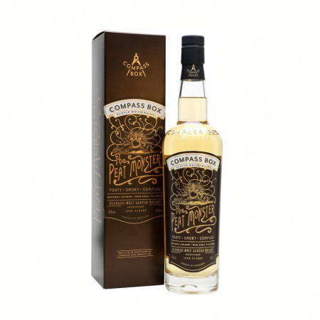 The Compass Box The Peat Monster
