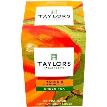 Ceai verde cu mango si cardamom Taylors of Harrogate 20 pliculete a cate 1.5g