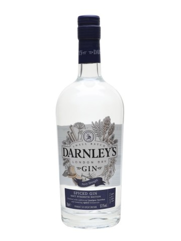 Gin DARNLEY'S NAVY STRENGTH SPICED GIN 57.1 % - 700 ml