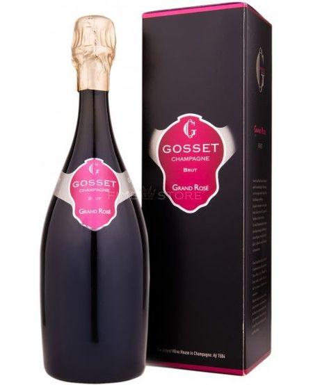 Gosset Grand Rose Brut Cutie Cadou 0.75L