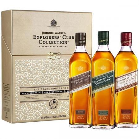 Johnnie Walker Explorer's Club Collection 3 x 200 ml