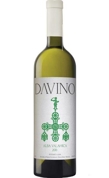 Vin alb sec Davino Alba Valahica - min 11 % - 750 ml