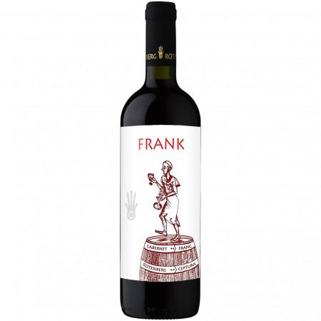 Vin Rosu Rotenberg Frank, Cabernet Franc Sec, 0.75l