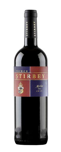Vin Rosu Stirbey Merlot 13.5% - 750 ml