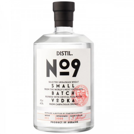 Vodka Staritsky Levitsky, Distil No. 9, 700 ml