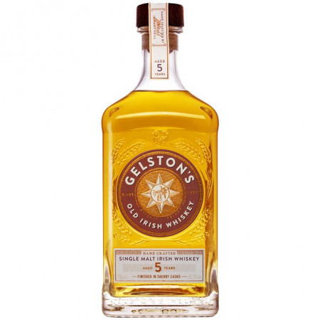 Whisky irlandez Gelston's, 5 ani 41.2%, 700 ml